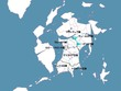 イグナシス世界地図 帝国戦争編
