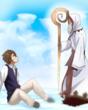 神々との契約:英雄王の3話の挿絵