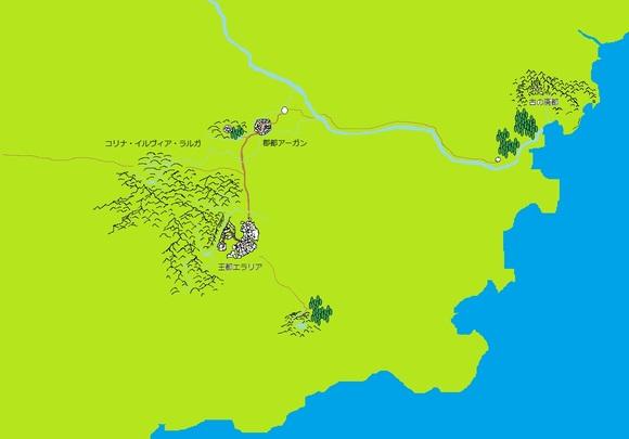エラリア地図