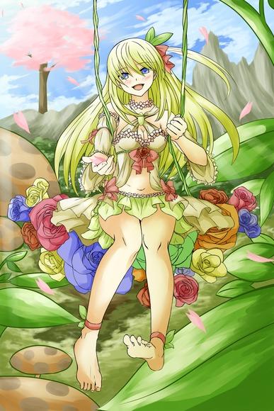 【D★C】花の妖精を塗らせて頂きました
