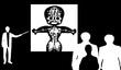 ロボットの図_シルエット