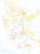 【線×色Ⅱ】天使(秋花さまの線画)