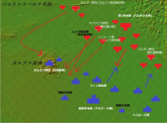 ベルトゥスベルク会戦布陣図