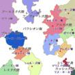「行き先不明の御一行!」世界地図03