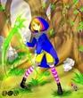 【線画×彩色◆コラボ祭Ⅳ】愛餓え男様の線画