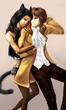【猫かぶり姫と天上の音楽】より、ジャスティン&リリアーナ