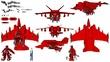 ナンコウ・カイ用TLD04-飛行装置装備型(飛行形態)