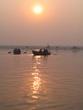 ガンジス川の朝
