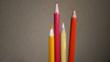 色鉛筆エッセイ折り鶴に使った色