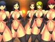 黒ビキニ女戦闘員