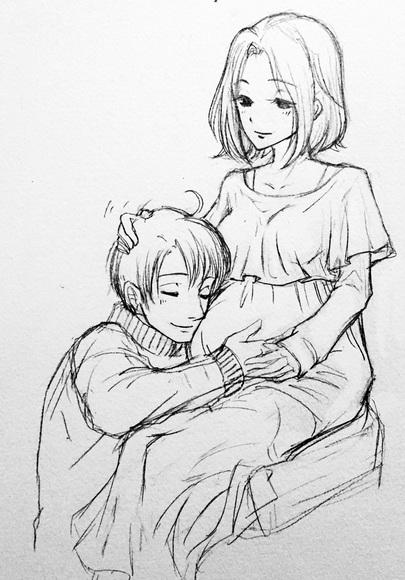 白石舞依様のパパとママ(キャラ名ですよ!笑)