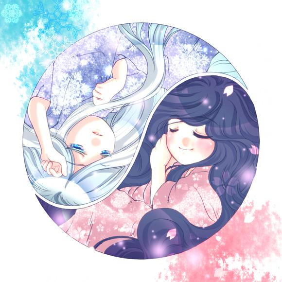 【線画×彩色◆コラボ祭Ⅳ】:汀雲様の線画