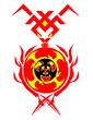 八頭竜炎環章