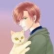 オリジナル/猫と一緒