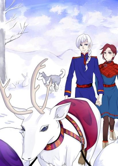 雪国の散歩