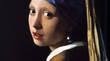 フェルメール「耳飾りの少女」  出典:Wikipedia