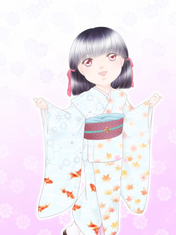 汀雲 四季・着物・幼女