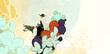辺境の老騎士第1巻カバーイラスト