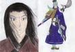 『遠戦雄志』挿絵です