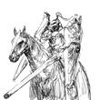 お題11:盾騎士