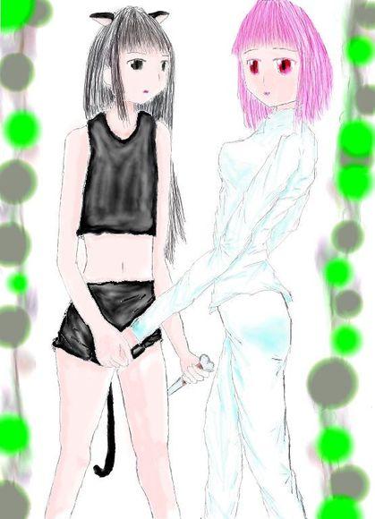放課後フォークロア 莉子&ルリララ(没イラスト)