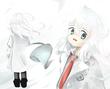 白衣の女の子