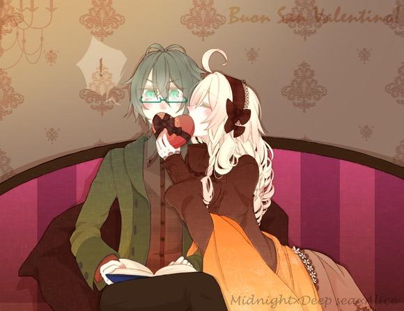 バレンタインデー×キス
