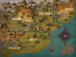 テスニア王国と周辺地図
