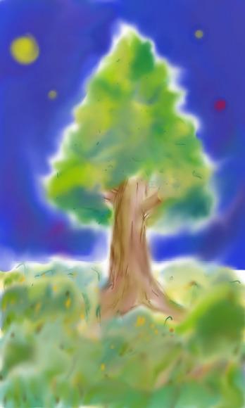 カボチャの悠元様のダルメリアの森の木のつもり