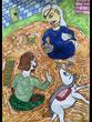 復讐の王女と願いの石 第二章の挿絵