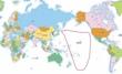 世界地図テルミナ大陸出現位置
