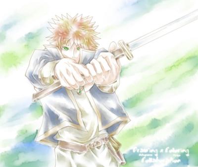 【線×色】戦士(線画:福山陽士さま)