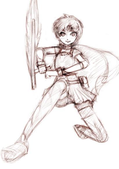 光剣の女魔導士