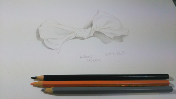 色鉛筆スケッチ ティッシュペーパー1215