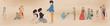 人魚姫のお伽話絵巻調物語3