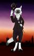 【塗り絵企画Ⅳ】八劔幽さんのネコ男爵を塗ってみた