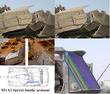 M1砲塔側面複合装甲