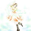 【D★C】踊る娘(城戸・ししゃも・一輝様の線画)