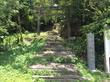 伊波城跡のエントランス