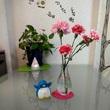 アデリーと生け花