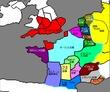 オリジナル地図 仮想国家地図