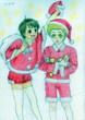 【ある日_異世界】 佐倉&チロのクリスマス!