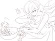 お題:お料理せくしー妖精