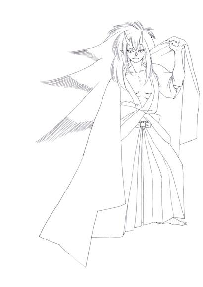 【線画×彩色◆コラボ祭Ⅳ】線画 4