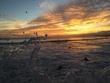 ワイキキビーチの夕焼け2
