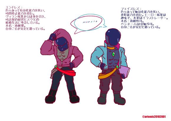 生体兵器の兄弟