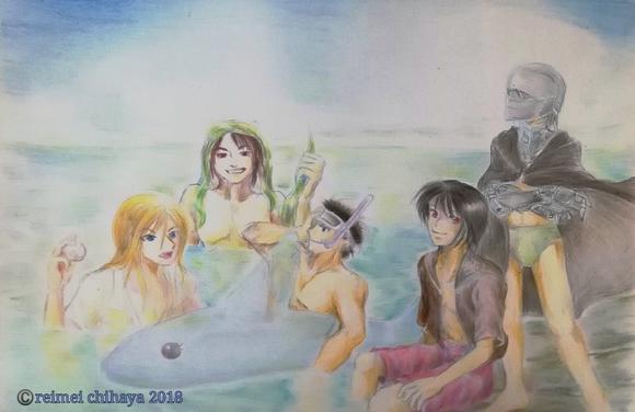 イケメン海水浴 完成