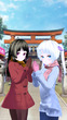 【初詣】葵&瞳子・10歳
