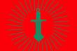 シャインズ王国国旗