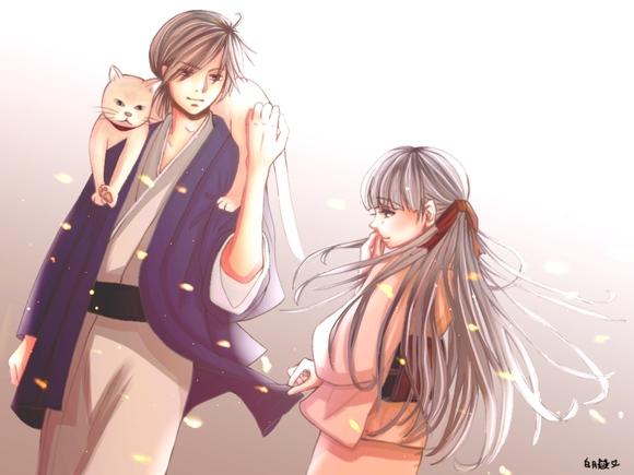 猫担ぎ兄さんと椿の子